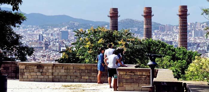 Mirador Parque del Poblec Barcelona