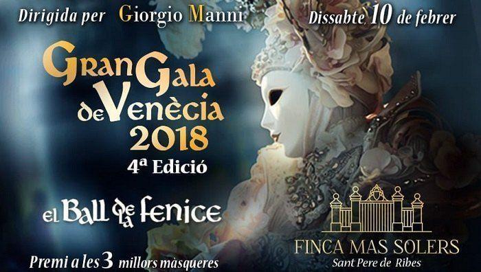Fiesta de máscaras Sitges 2018