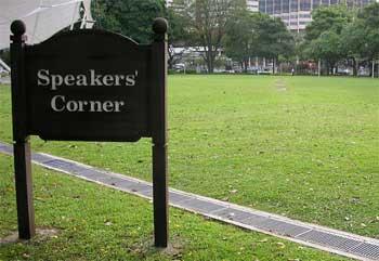 Speaker's Corner Hyde Park