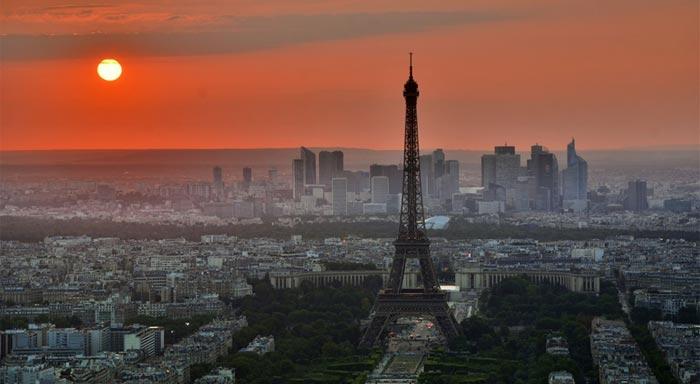 Viajar en tren París