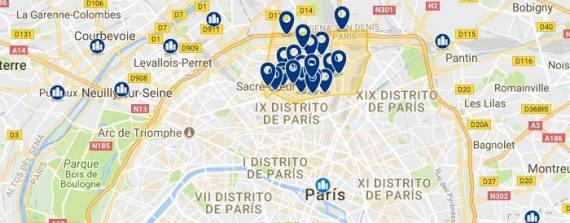 Alojamientos en Monmartre