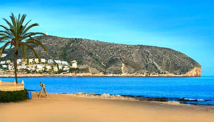 Playas de Moraira