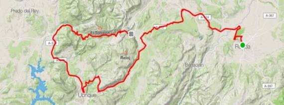 Ruta en bici Sierra de Grazalema