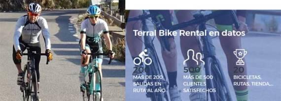 Rutas bicicletas Málaga