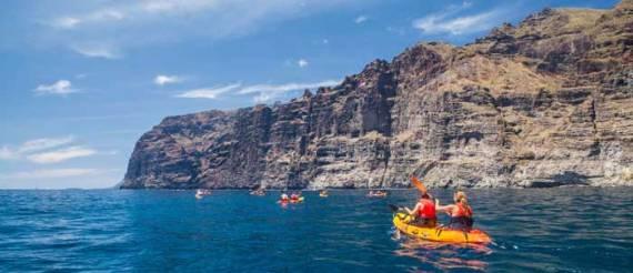 Ruta Kayak Los Gigantes en Tenerife