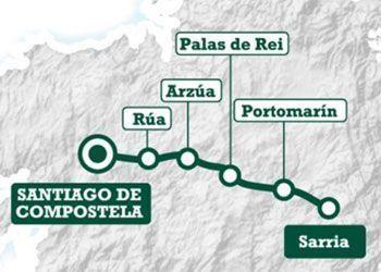 Camino Sarria Santiago