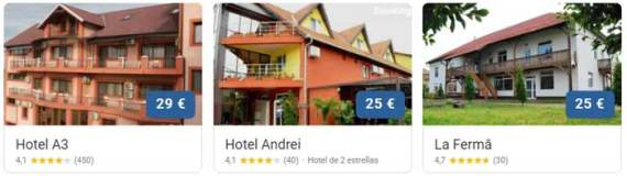 Hoteles en Transilvania