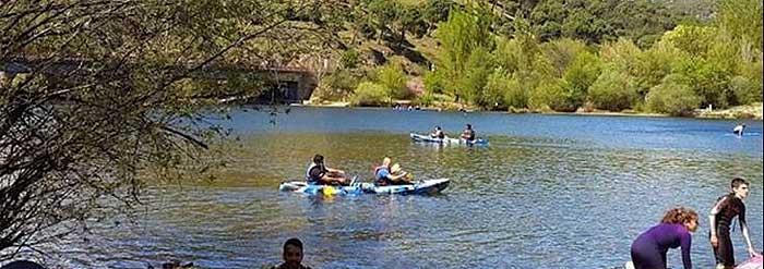Kayak Embalse Picadas Madrid