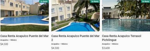 Casas en Acapulco