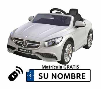 Coche eléctrico infantil Mercedes Roaster