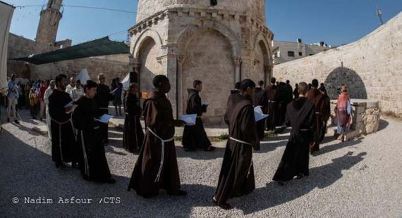 Semana Santa en Jerusalén