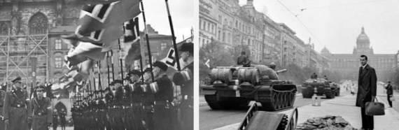 Nazismo y comunismo Praga