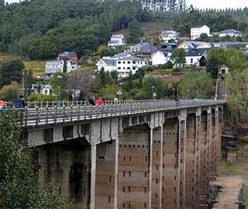 Ponte Nova Portomarín