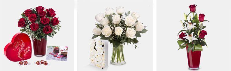 Flores para cenas románticas