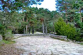 Calzada Romana en Cercedilla