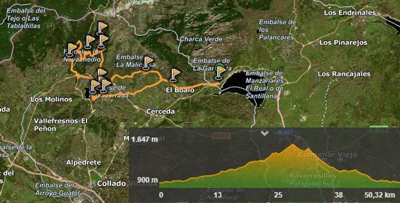 Rutas bicicleta Sierra de Guadarrama