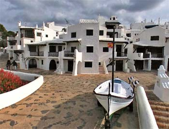 Binibeca Vell en Menorca