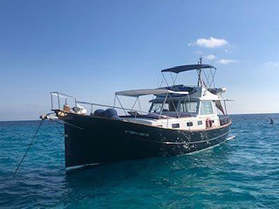 Excursión en Llaut en Menorca