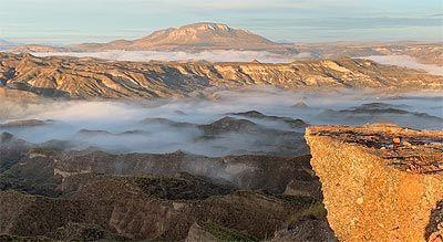 Desierto de Gorafe en Granada