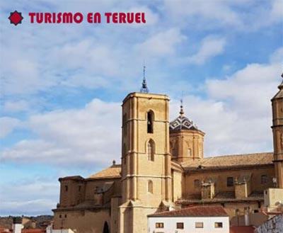 Torre gótica iglesia de Alcañiz