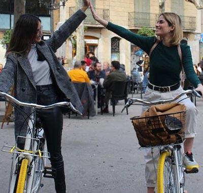 Alquilar bicicletas para recorrer Barcelona