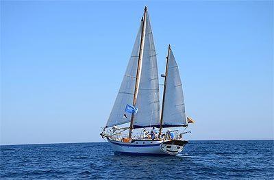 Ruta en velero por Alicante