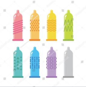 tipos de condones que existen