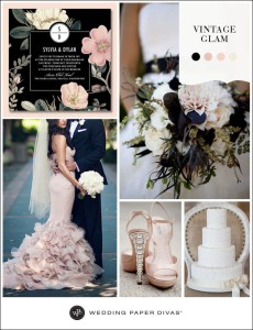 blush wedding inspiration ideas