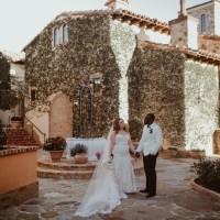 Gold Bella Collina Wedding