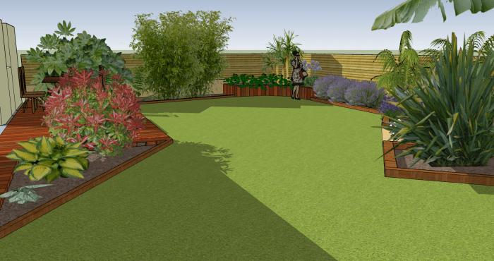 Construisons ensemble votre futur jardin plan jardin 3d for Logiciel 3d jardin