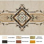 Marble Waterjet Floor Design Cad Files Dwg Files Plans And Details