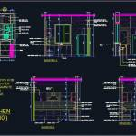 Modular Kitchen Design Detail 12 6x10 Autocad Dwg