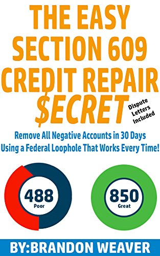 Section 609 Credit Dispute Reviews Planner Template Free