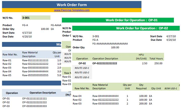 You can organize the template by tracking number, the assigned worker, the requestor, or other criteria to easily locate the information you need. Work Order Template In Excel Free Download Work Order Form Tracking
