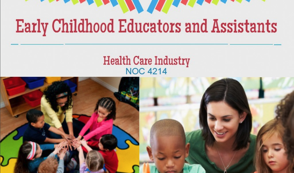 Early Childhood Educators and Assistants NOC 4214