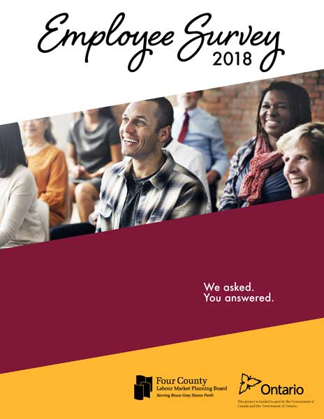 Employee Survey Report 2018 Cover