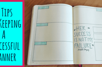 5 TipsFor KeepingA Successful Planner