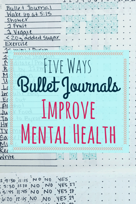 how to keep a journal for mental health