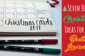 Seven Jolly Christmas Ideas for your bullet journal