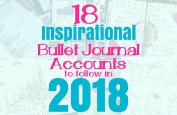 bullet journal accounts blog header