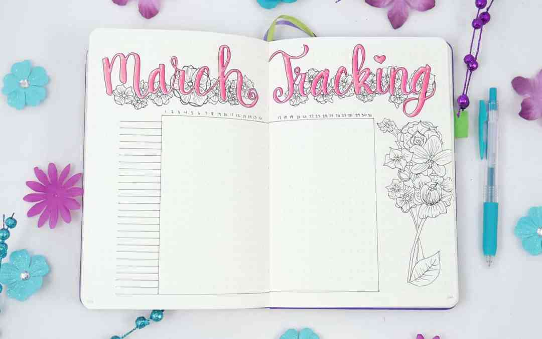 Spring Bullet Journal Set Up Ideas