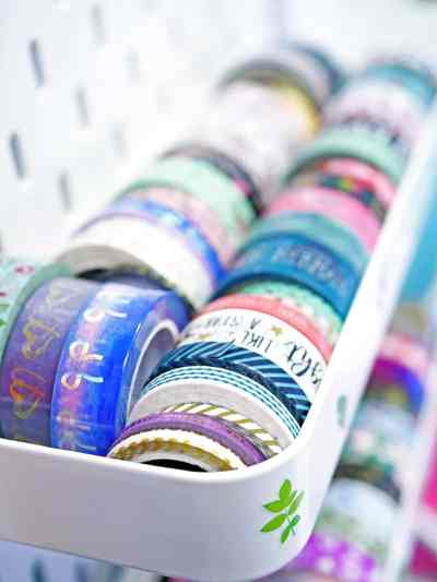 Washi tape for journaling.