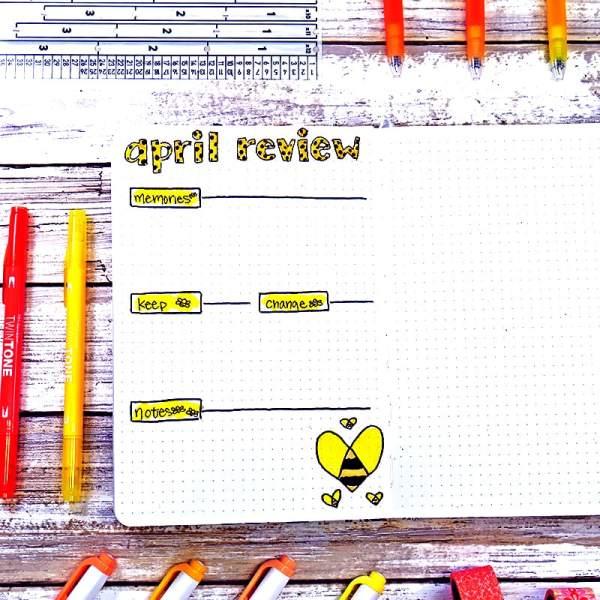 April review bee theme setup