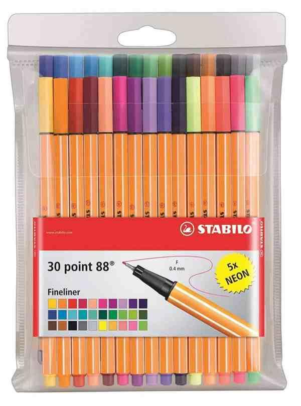 stabilo pens for bullet journaling