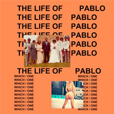 Capa do disco The Life Of Pablo, de Kanye West