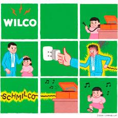 Capa de Schmilco, álbum da banda Wilco