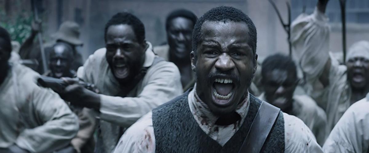 Imagem de O Nascimento de Uma Nação com a rebelião dos escravos lideradas pelo personagem de Nate Parker