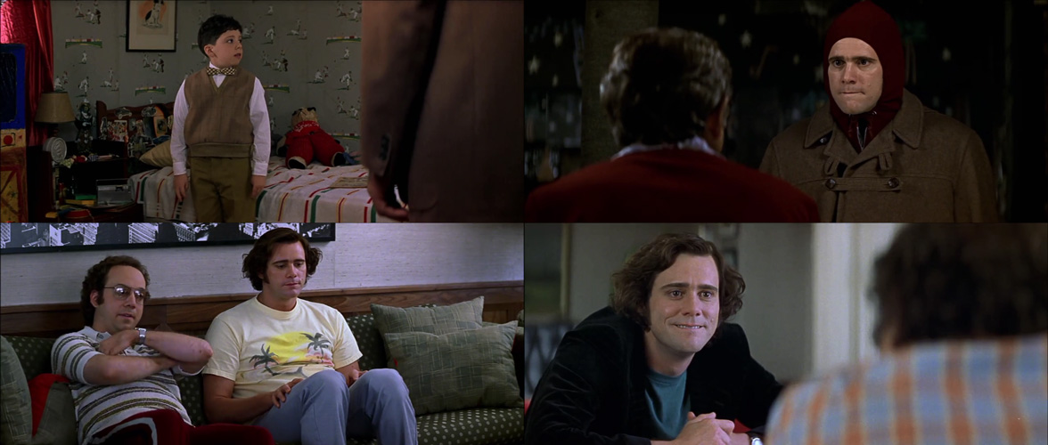 O Mundo de Andy Kaufman Jim Carrey Paul Giamatti Danny DeVito