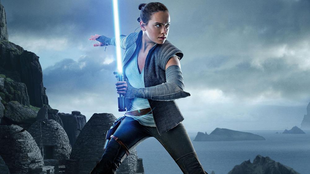 Star Wars Os Últimos Jedi Rey Daisy Ridley blockbuster politizado