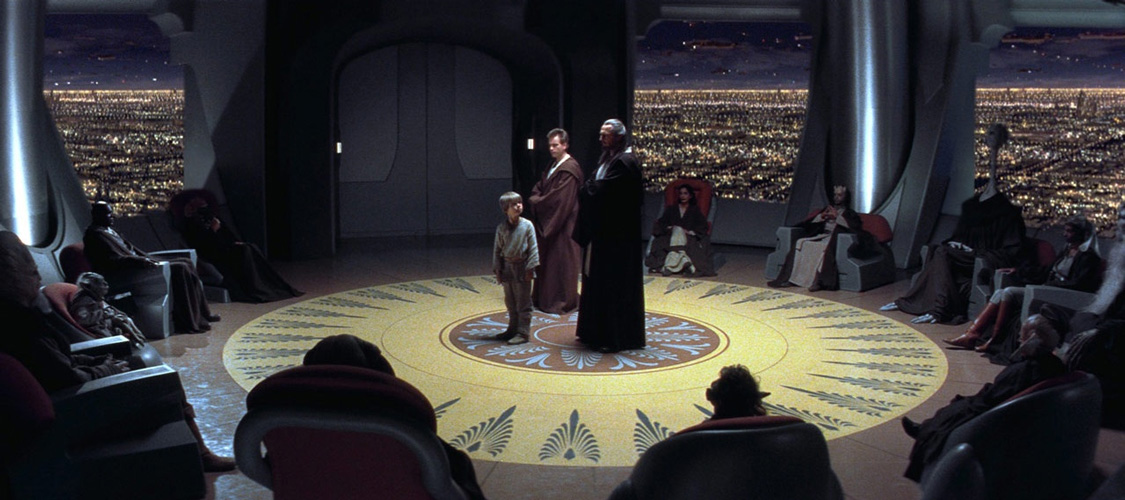 Star Wars A Ameaça Fantasma Conselho Jedi blockbuster politizado